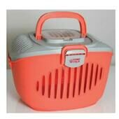 Living World Paws2go Carrier Grey/salmon