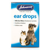 Johnson's Dog & Cat Ear Drops 15ml