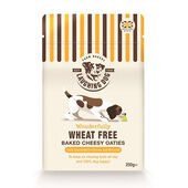 4 x Laughing Dog Wheat Free Cheesy Oaties 250g