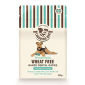4 x Laughing Dog Wheat Free Dental Oaties With Mint 250g