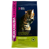 Eukanuba Cat Adult Chicken Hairball Control 400g