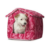 Just 4 Pets House Bed Combat Pink