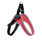 Tre Ponti Fibbia Small Dog Nylon Harness Red