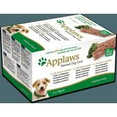 4 x Applaws Natural Dog Pate Country Fresh Multipack 5 x 150g