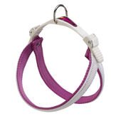 Agila Dual Colours 4 Nylon Harness Purple/white 44-52cm