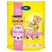 4 x Go-cat Crunchy And Tender Kitten 800g