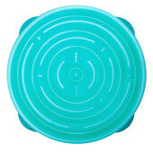 Outward Hound Fun Feeder Teal Slow Feed Bowl - Regular