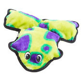 Outward Hound Invincibles Frog Green/purple 6 Squeaker