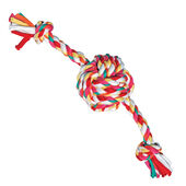 3 x Twistables Cotton Rope Ball Tug Small 10