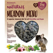 Naturals Meadow Menu Chinchilla/degu 2kg