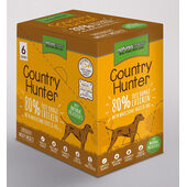 3 x Natures Menu  Country Hunter Dog Adult Pouch Chicken 6x150g