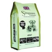 Simpsons Premium Adult 60/40 Venison & Rabbit Dry Dog Food