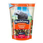 4 x Bucktons Parrot Food With Spiralife 1.5kg