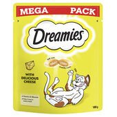 Dreamies Cat Treats With Cheese Mega Pack 180g