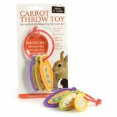Sharples 'N' Grant Small 'N' Furry Carrot Throw Toy