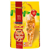 Go-cat Crunchy And Tender Beef Chicken & Veg 3kg