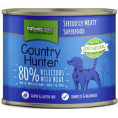Country Hunter Meals Dog Can Delicious Wild Boar 600g