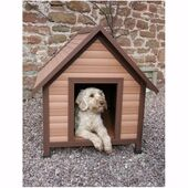 Rosewood Weather Tuff Kennel Apex