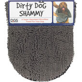 Dog Gone Smart Dirty Dog Shammy Grey 33x79cm