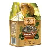 4 x Natures Feast Guinea Pig Nugget Grass & Veg Mix 1.5kg