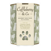 6 x Cuffleberry & Co. Chicken Quail Baby Sweetcorn & Mushrooms In A Herb Gravy 400g