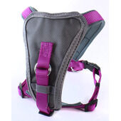 Doodlebone Nylon X-over Harness Purple