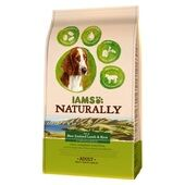 Iams Naturally Adult Dog Rich In New Zealand Lamb & Rice