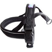 Dog & Co Nylon Norwegian Harness Reflective Padded Black
