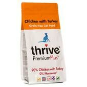 Thrive Cat Adult Premium Plus Grain Free Chicken With Turkey 1.5kg