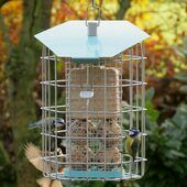 Contemporary Squirrel Proof Hexihaus Fatball Feeder Sky Blue