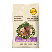 Harringtons Complete Dog Grain Free Turkey & Veg 15kg