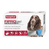 3 x Fiprotec Combo Medium Dog Pipette