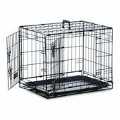 Two Door Dog Crate (61cm x 46cm x 48cm)