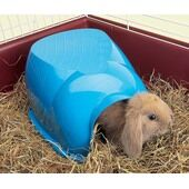 Back-2-Nature Cocoon Guinea Pig/dwarf Rabbit Home Assorted 34.5x26.5x16cm
