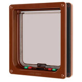 Cat Mate Cat Flap Brown Large 21x22.7cm