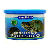6 x King British Turtle And Terrapin Food Sticks 110g