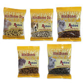 50 x Antos Mini Bones Mixed Box- 10 X 5 Flavours 200g