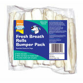 Good Boy Fresh Breath Rolls Bumper Pack 15cm (6