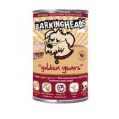 24 x 400g Barking Heads Golden Years Chicken & Salmon Senior Wet Dog Food