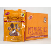 8 x 100g Pet Munchies Chicken Breast Fillets Natural Dog Treats Multibuy