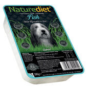 18 x 390g Naturediet Fish With Vegetables & Rice Wet Dog Food