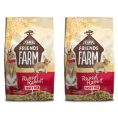 2 x 12.5kg Supreme Tiny Friends Farm Tasty Mix Russel Rabbit Food