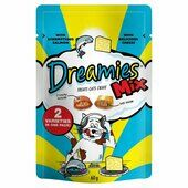 8 x 60g Dreamies Cat Treats Mix With Salmon & Cheese