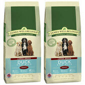 2 x 15kg James Wellbeloved Large Breed Duck & Rice Adult Dry Dog Food