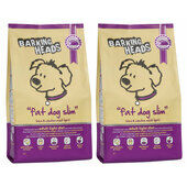 2 x 12kg Barking Heads Fat Dog Slim Dry Light Dog Food
