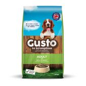 Gusto Complete Adult With Beef Working Dog Food - 12kg