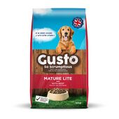 Gusto Complete Mature / Lite With Beef Working Dog Food - 12kg