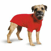 Red Muddy Paws Cable Knit Dog Sweater