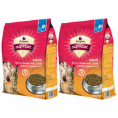 2 X 10kg Burgess Cat Adult Rich In Chicken With Duck