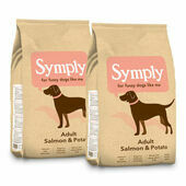 2 x 12kg Symply Adult Salmon & Potato Dry Dog Food